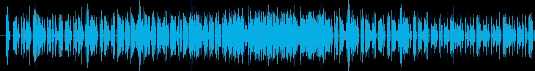 ★8bit ファミコン風 戦闘開始前の再生済みの波形