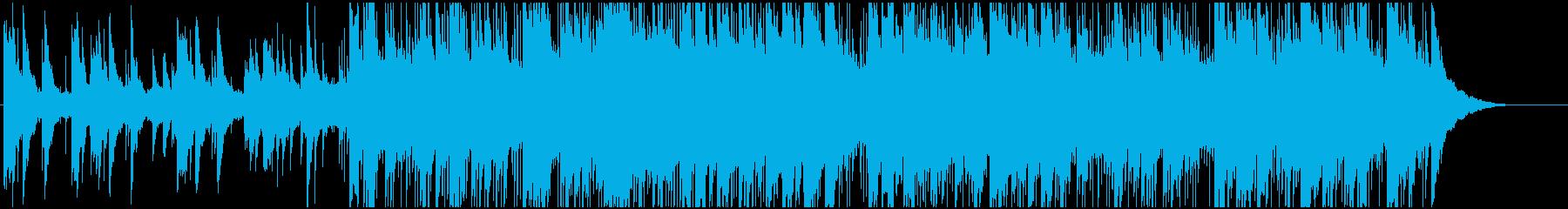 ピアノ演奏のリードを備えた簡単なラ...の再生済みの波形