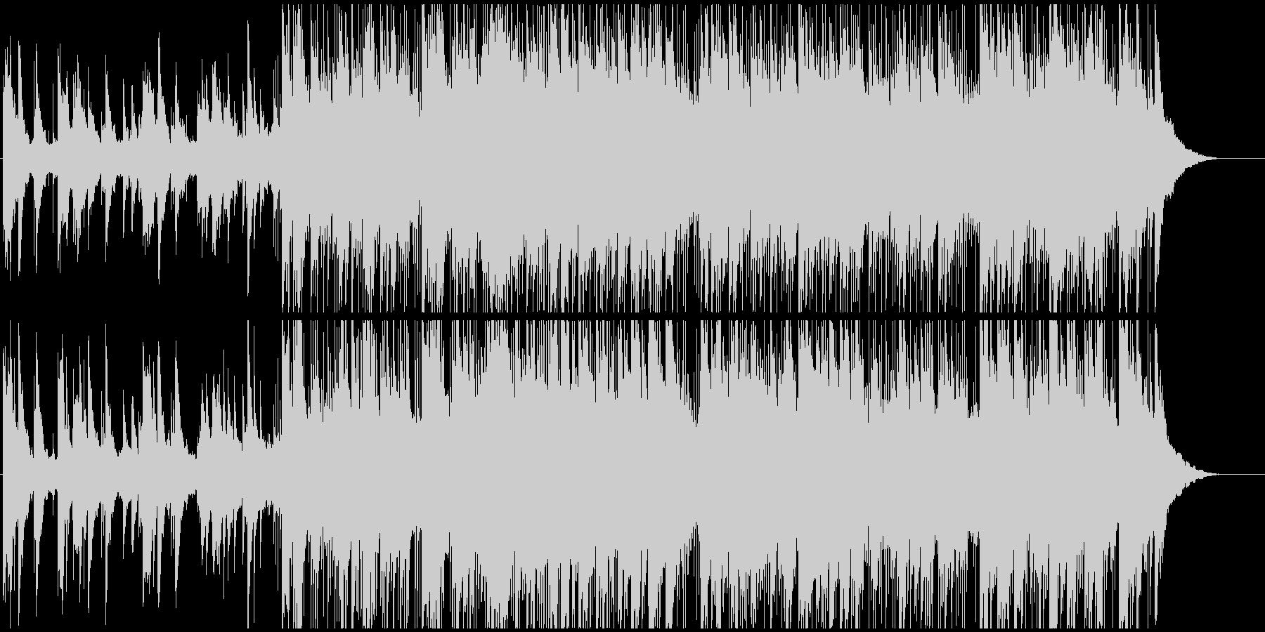 ピアノ演奏のリードを備えた簡単なラ...の未再生の波形