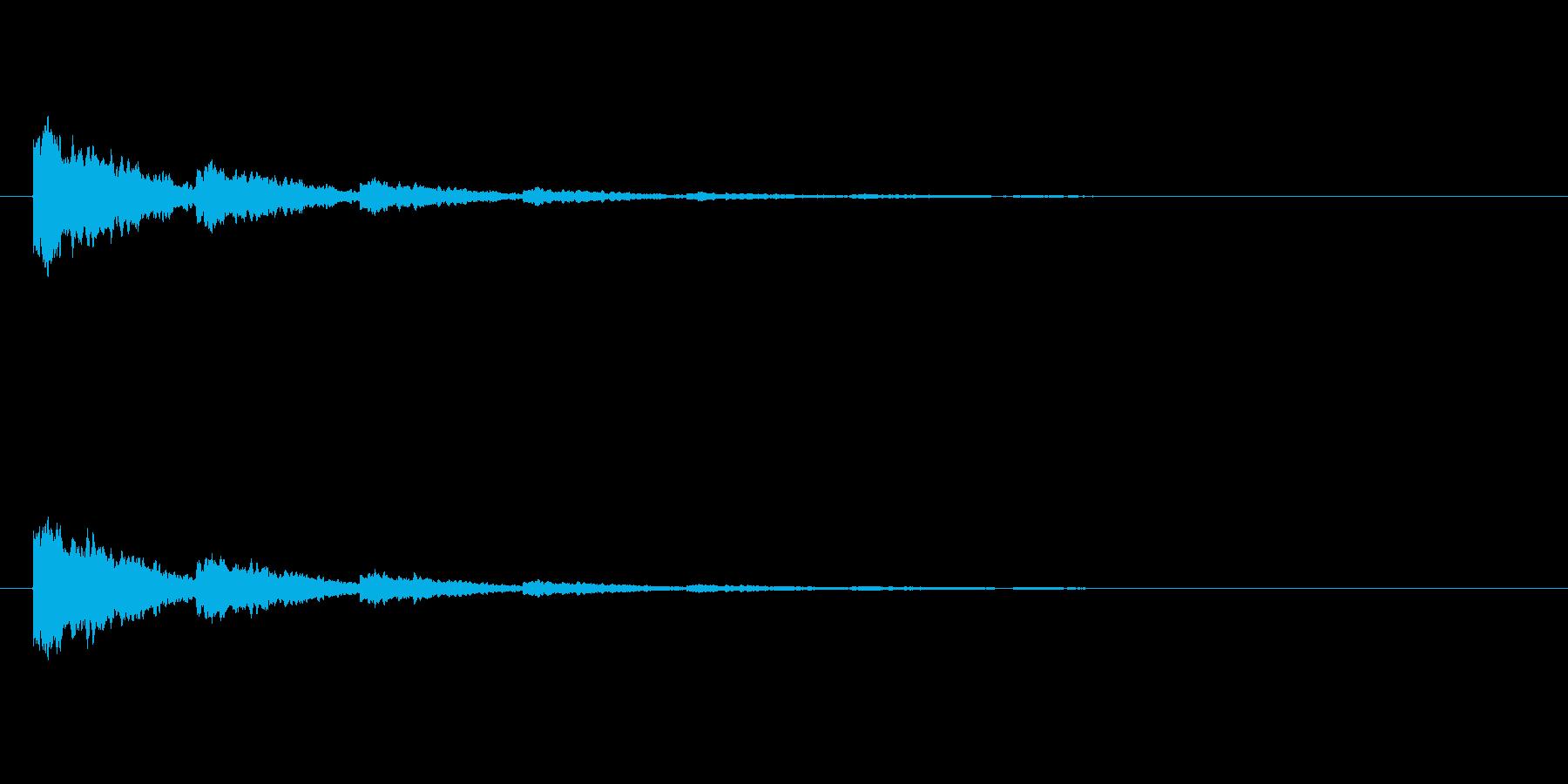 【ひらめき09-7】の再生済みの波形
