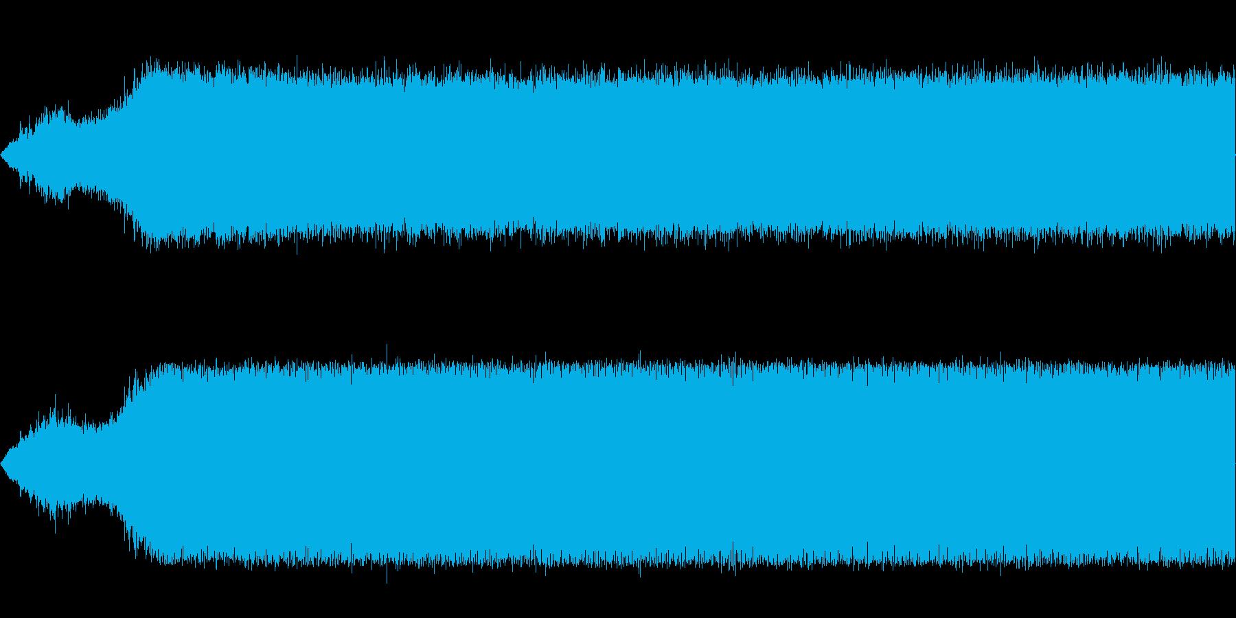 掃除機の電源を入れるの再生済みの波形