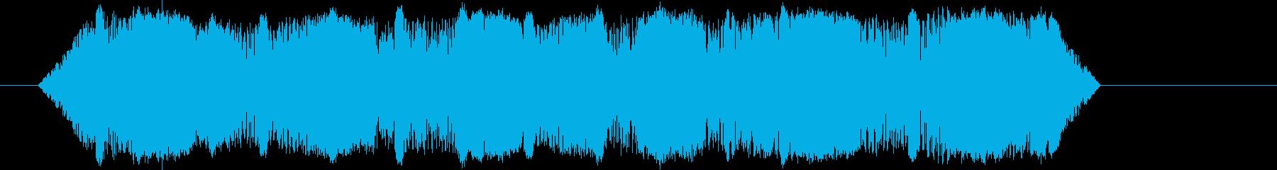 ヒキガエル、スペードフットクローク...の再生済みの波形