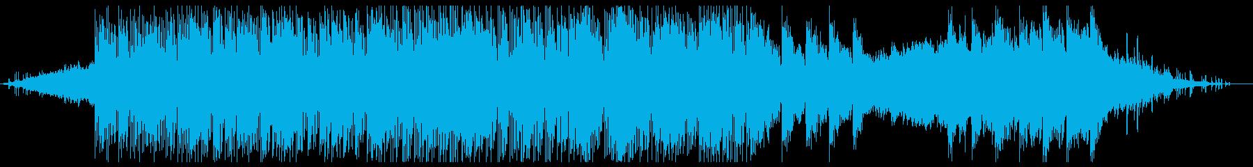 ドローンサウンドのようなアンビエン...の再生済みの波形
