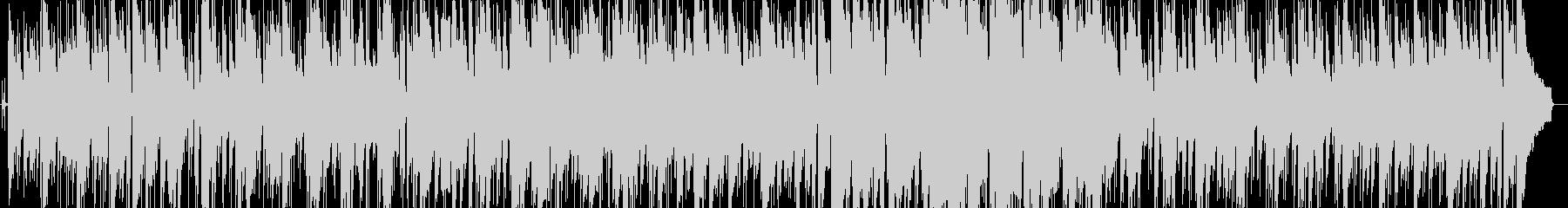 ゆったりと落ち着いたボサノバの未再生の波形