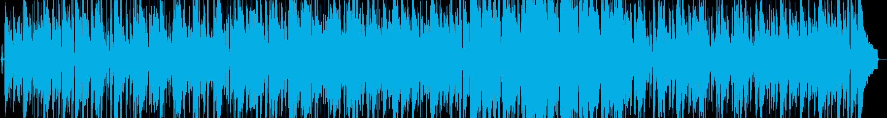 ゆったりと落ち着いたボサノバの再生済みの波形