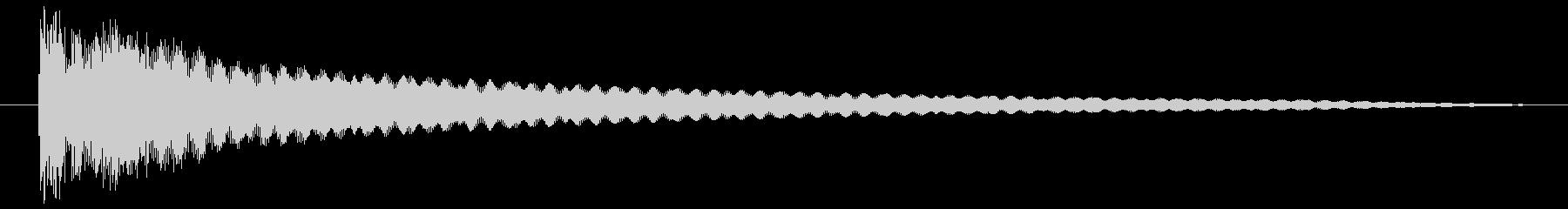 擬音 インパクトメタルディープロング01の未再生の波形