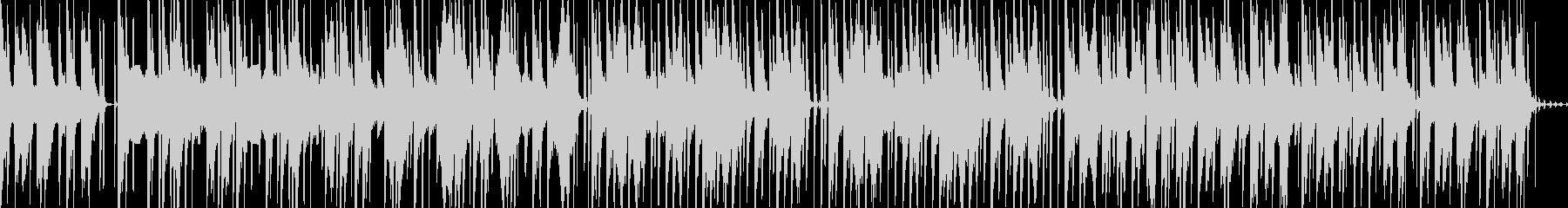 軽いニカ感のあるピアノHIPHOPの未再生の波形
