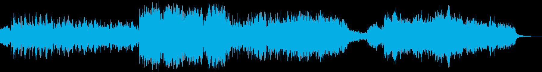 ケルト音楽っぽいカッコイイ曲の再生済みの波形