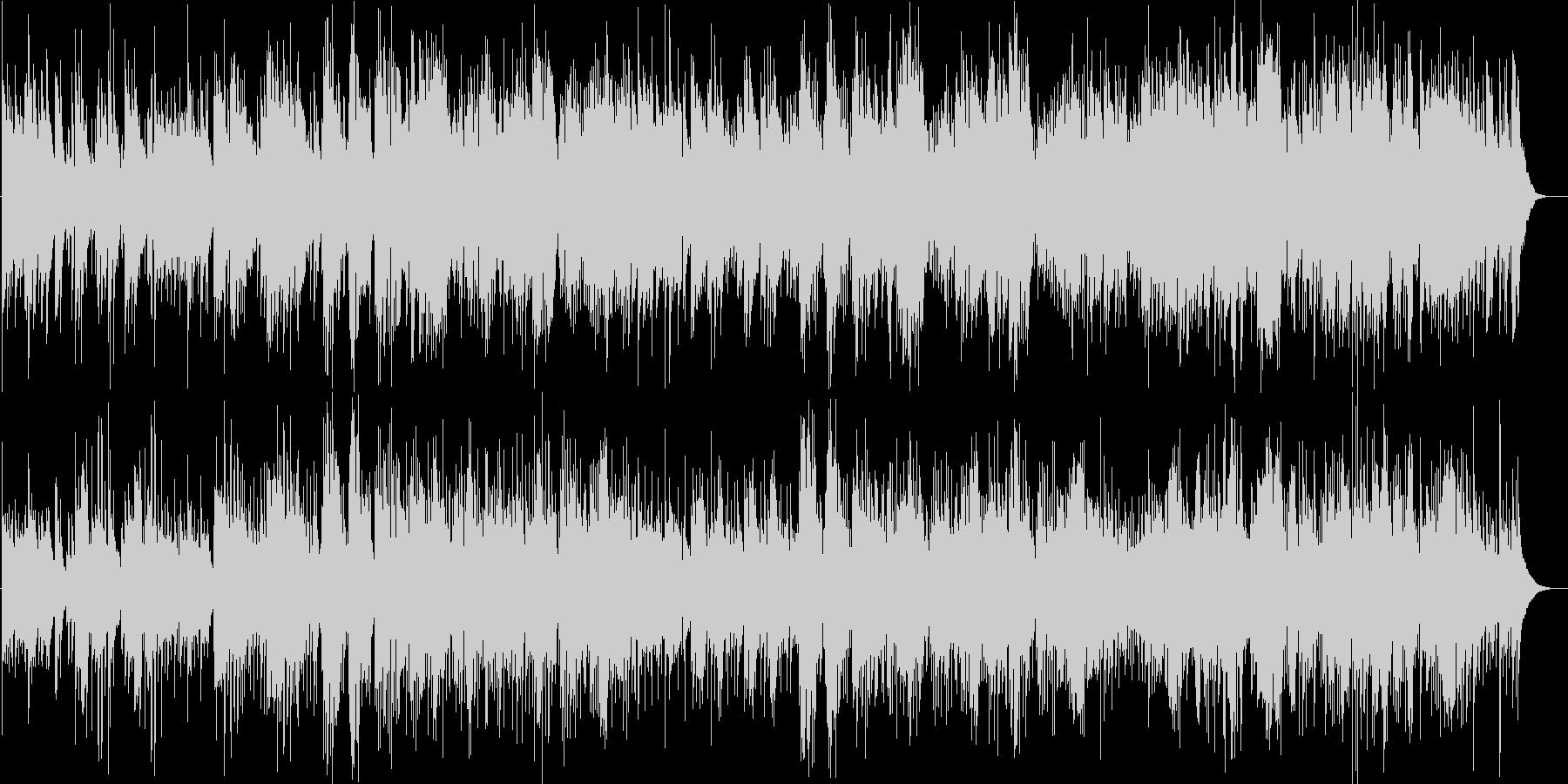 ハープ&アコギの穏やかなアコースティックの未再生の波形