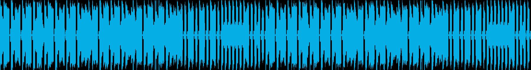 8bit風BGM さびれた場所の再生済みの波形