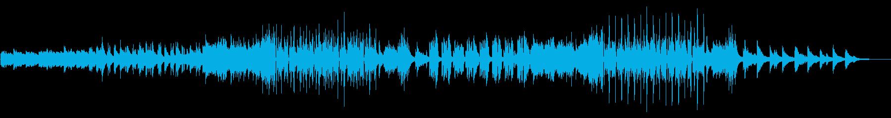 ピアノとアコギの爽やかな落ち着くBGMの再生済みの波形