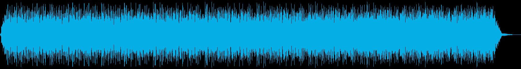 地底を感じさせるサウンドスケープの再生済みの波形