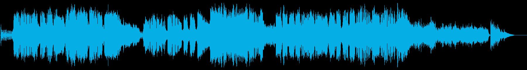 ピアノとストリングスが印象的な歌曲ですの再生済みの波形