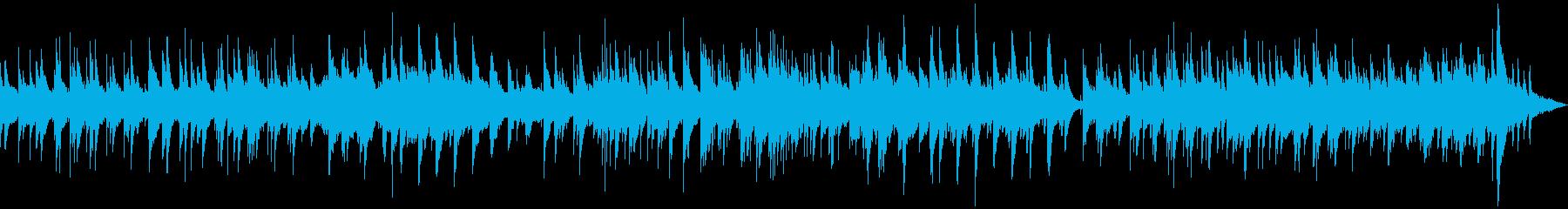 アコースティックギターとアコーステ...の再生済みの波形