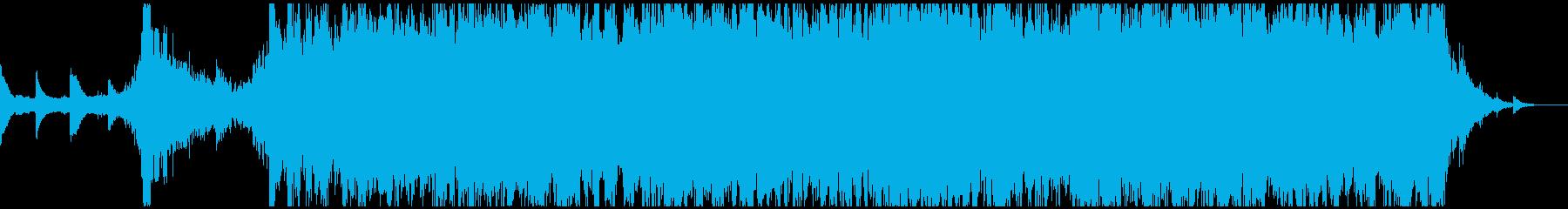 情緒あふれるしっとりしたサウンドトラックの再生済みの波形