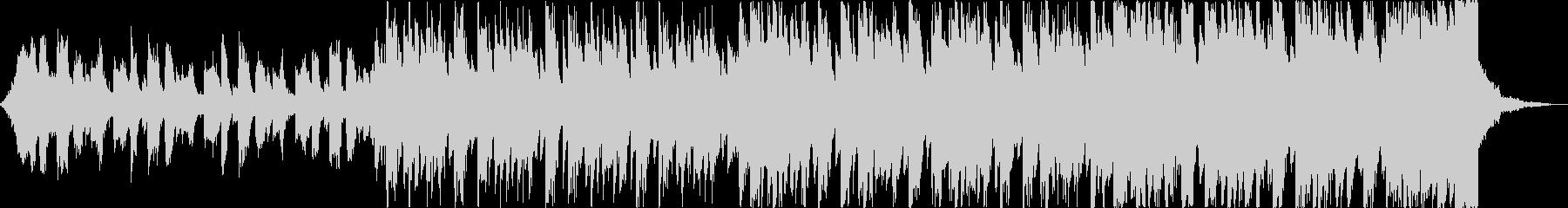 軽快清涼感クールEDMトロピカルハウスcの未再生の波形