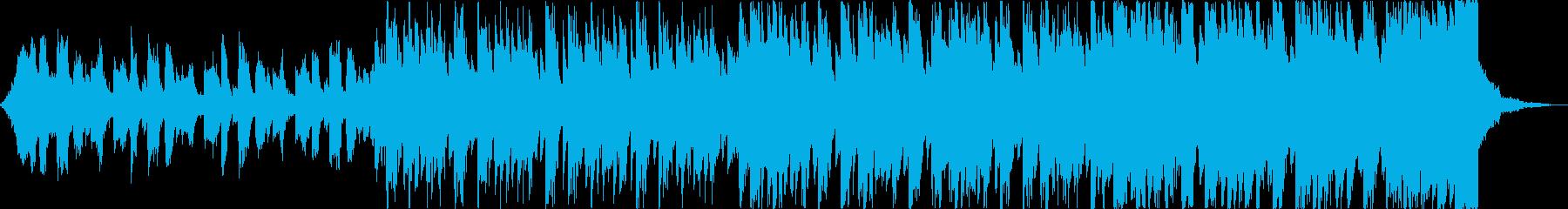 軽快清涼感クールEDMトロピカルハウスcの再生済みの波形