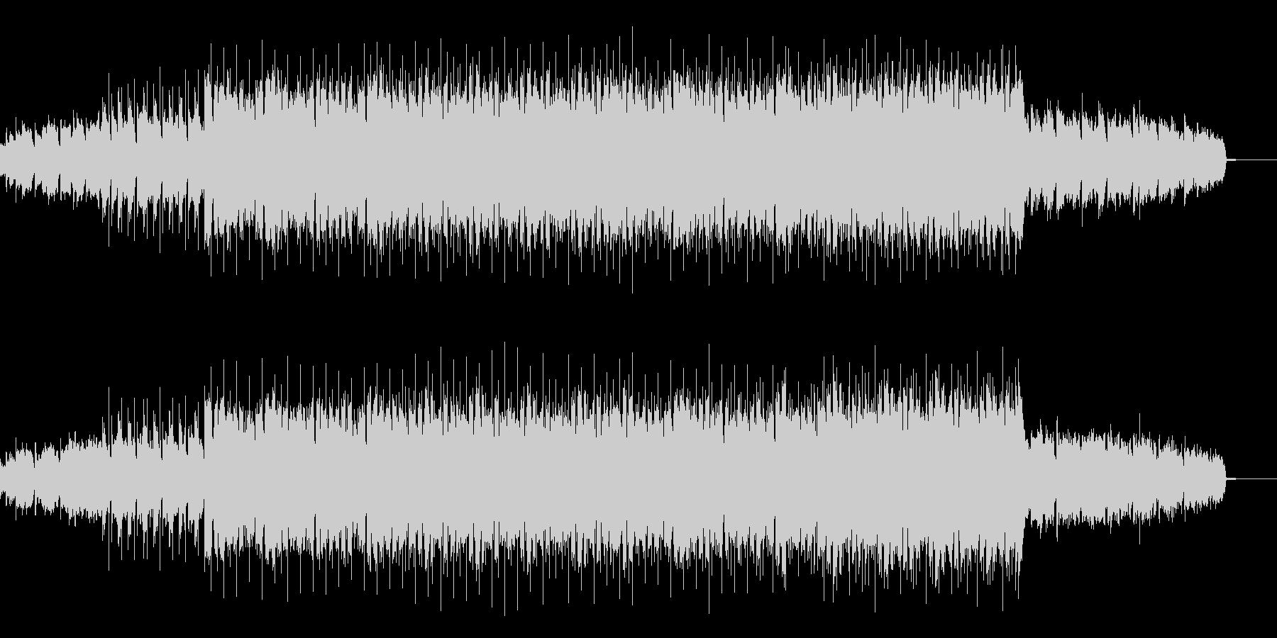 シンセサイザー多めのファンキーハウスの未再生の波形