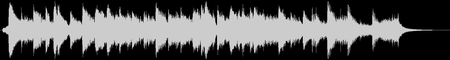 ビッグバンドジャズのスローなBGM1の未再生の波形