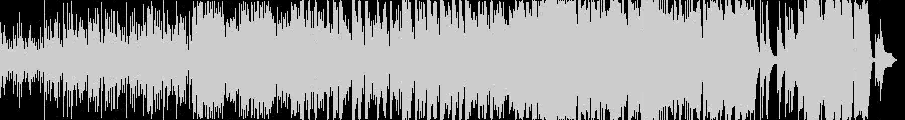 【ショート】起承転結のある温かいピアノオの未再生の波形