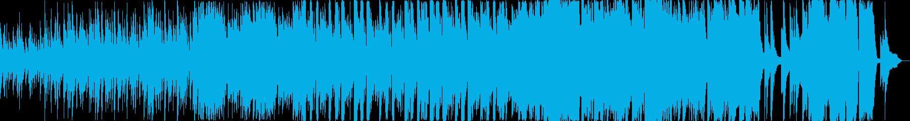 【ショート】起承転結のある温かいピアノオの再生済みの波形