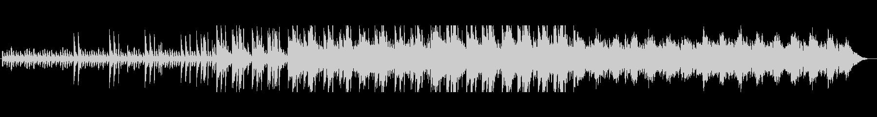 不安げなエレクトロの未再生の波形