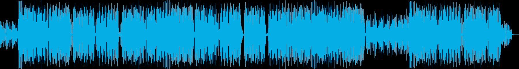 エスニックダンスビート♪の再生済みの波形