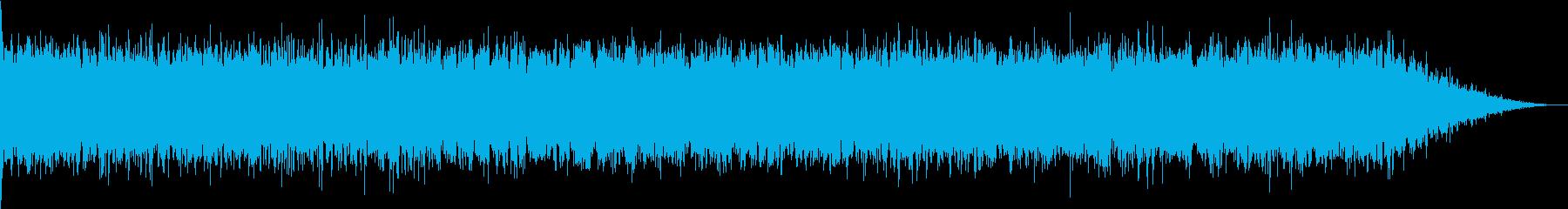 ピューン:ワープする音の再生済みの波形