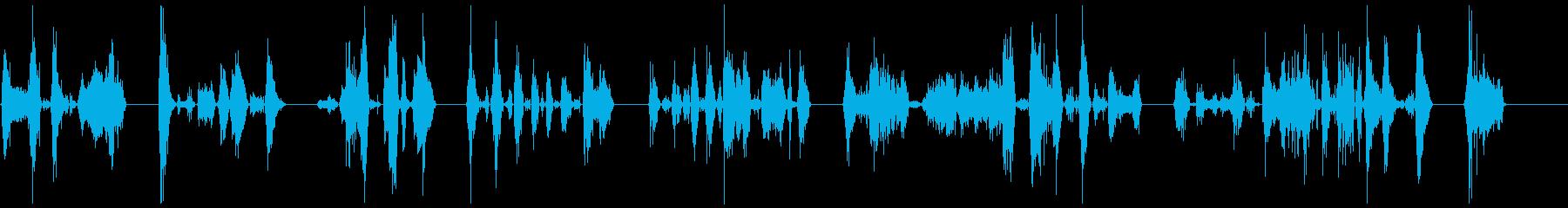 ゾンビの悪質な攻撃8-15の再生済みの波形