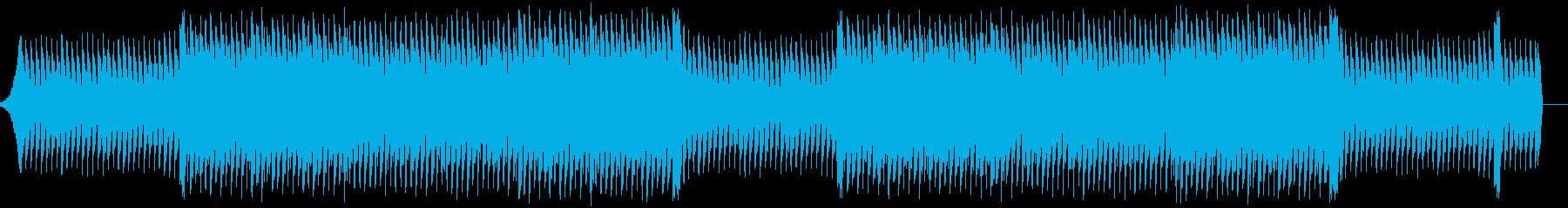 企業VP系、爽やかギターダンスポップの再生済みの波形