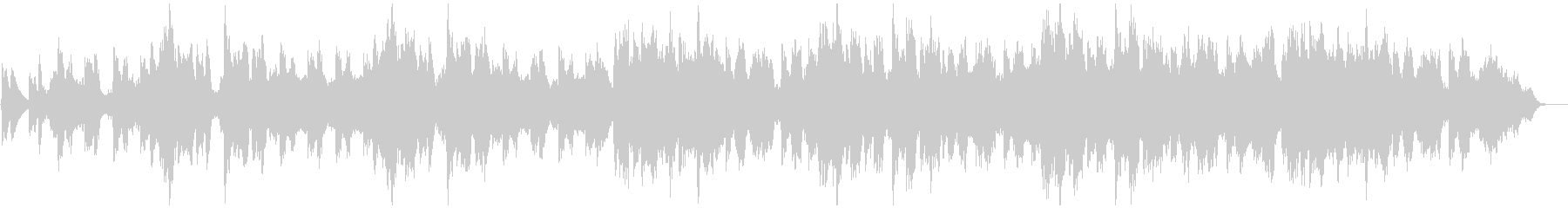 ファンタジーな森のゲーム散策時風BGMの未再生の波形