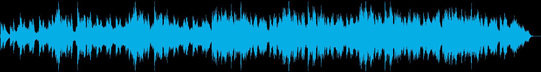 ファンタジーな森のゲーム散策時風BGMの再生済みの波形