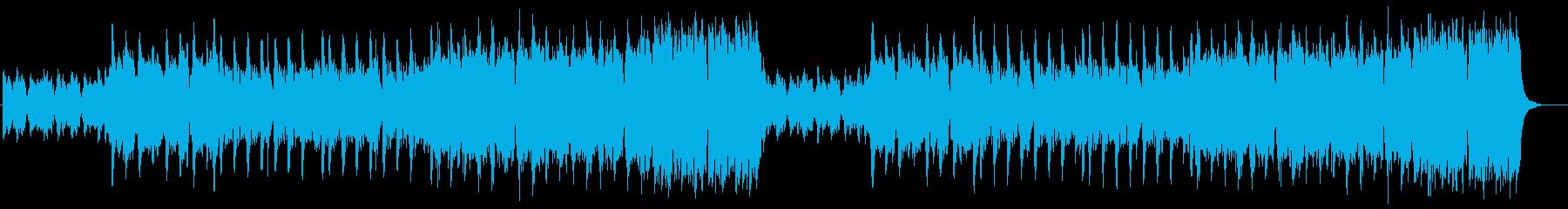 ケルト風町BGMの再生済みの波形
