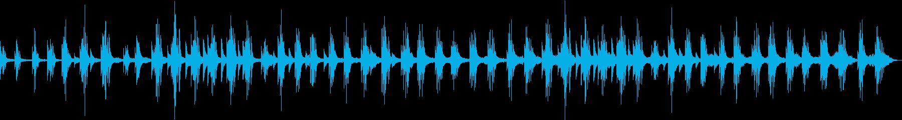 甘美で切ない透明なピアノアンビエントの再生済みの波形