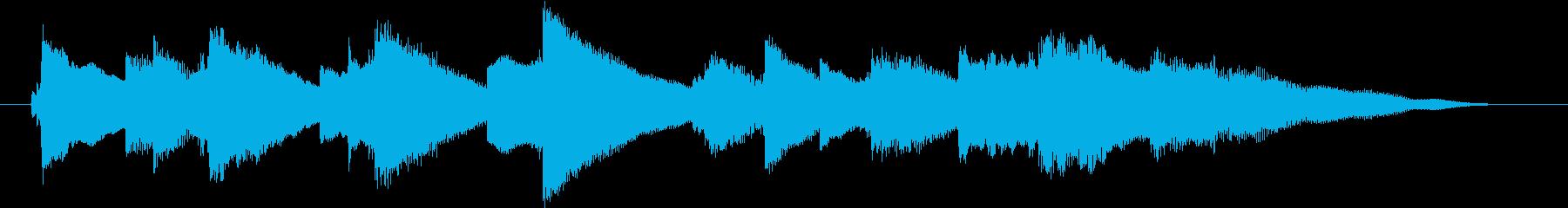 結婚式効果音_誓い02の再生済みの波形
