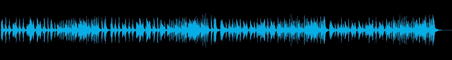 クラシックピアノソロ、行進曲風の再生済みの波形