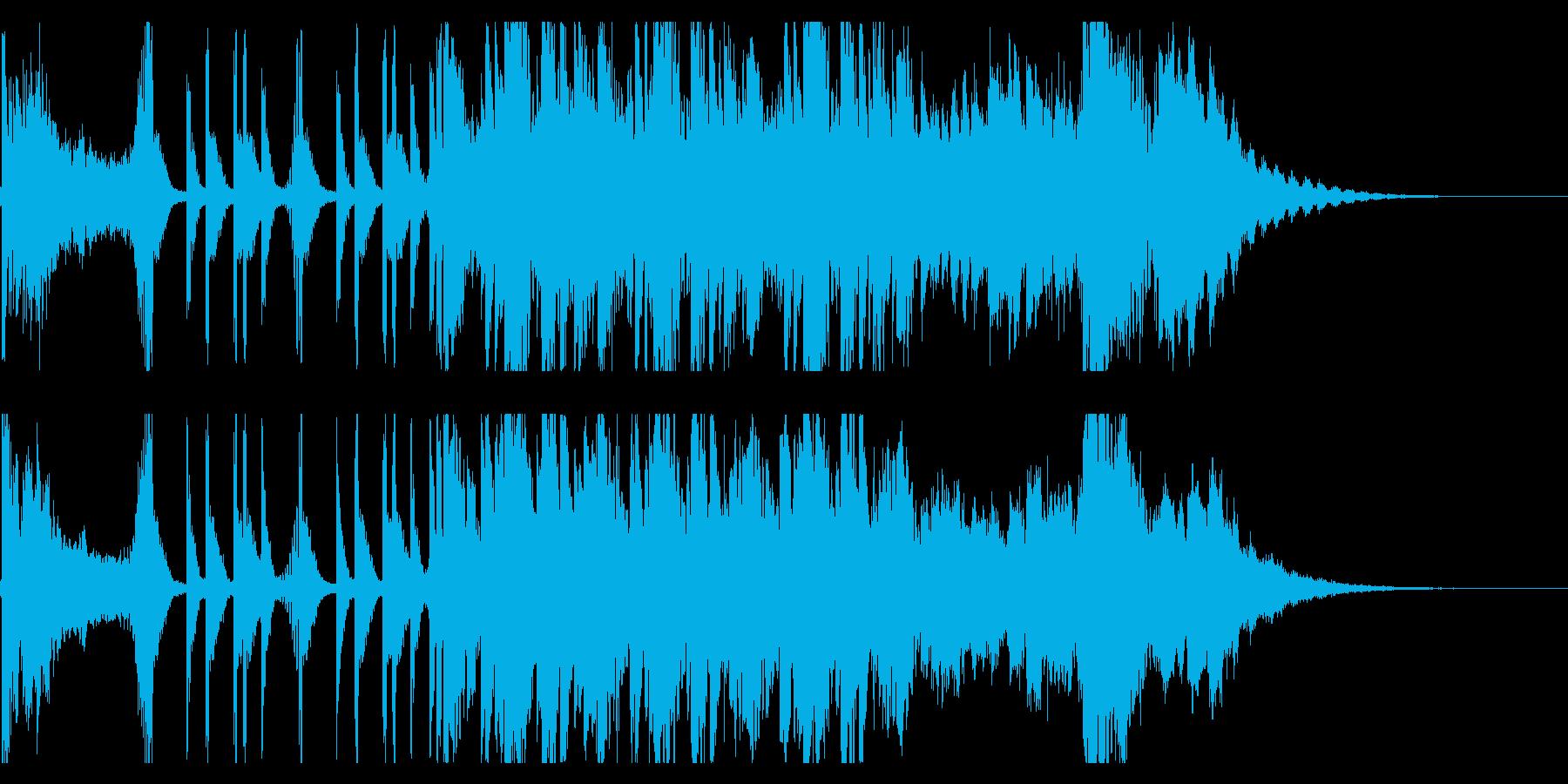 最先端なティーザー向きダークエレクトロの再生済みの波形