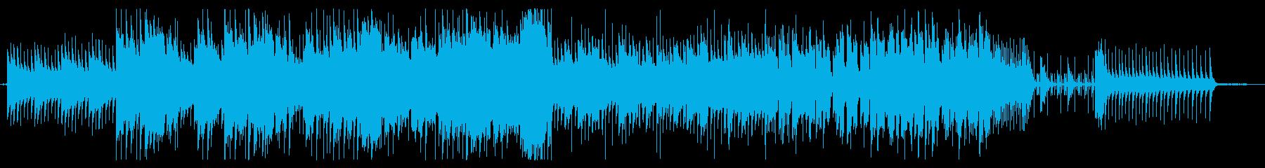 謎解きゲームのOP風 スローテンポの再生済みの波形