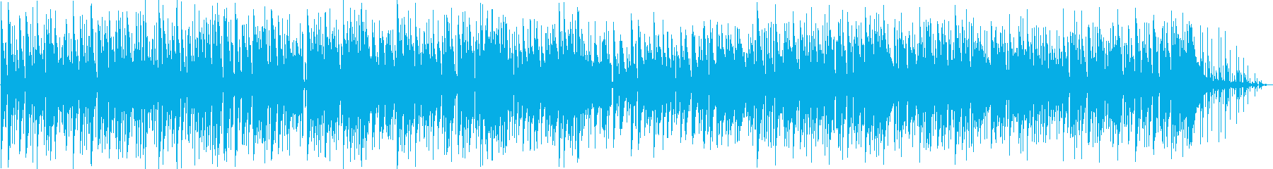 心にしみるイージーリスニング曲の再生済みの波形