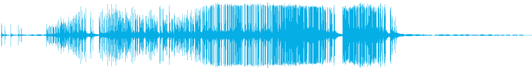 滑らかなリッピングキャンバスの再生済みの波形