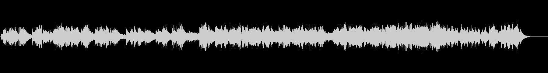 【イントロなし】オルゴール/アップテンポの未再生の波形