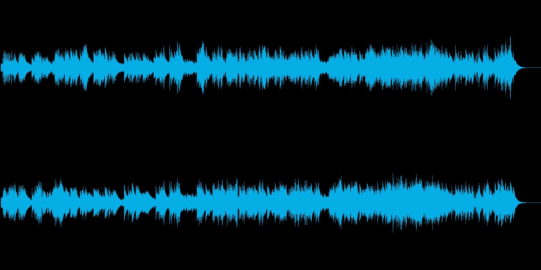 【イントロなし】オルゴール/アップテンポの再生済みの波形