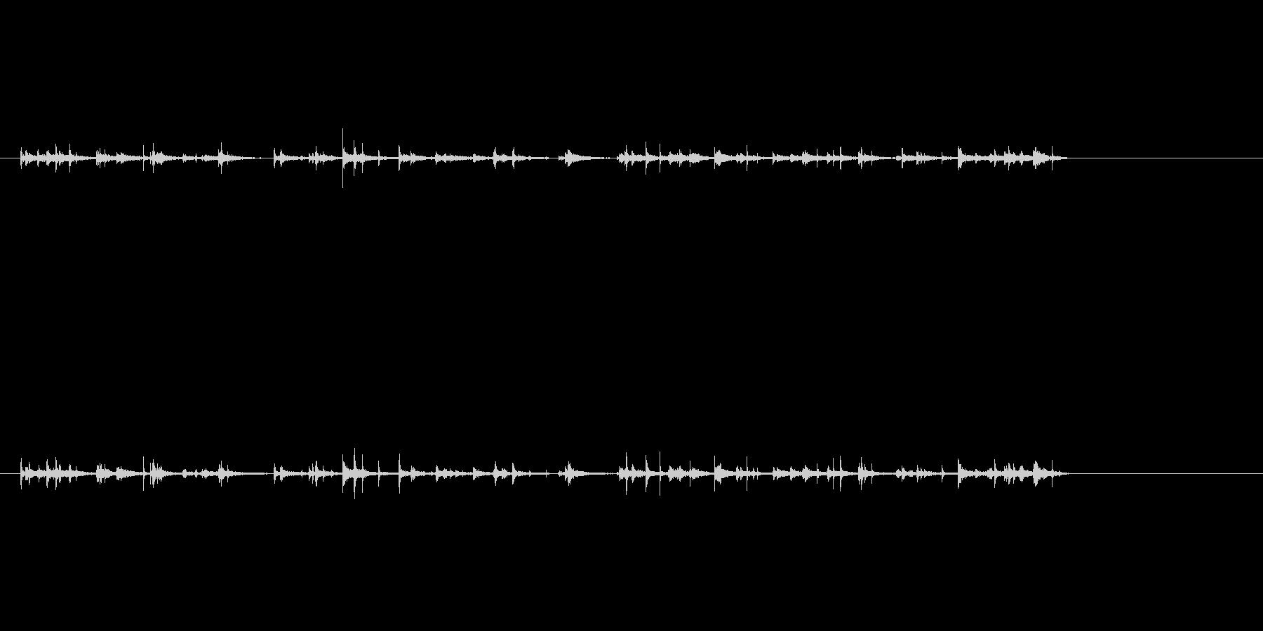 タンク、Echoeyの水滴の未再生の波形