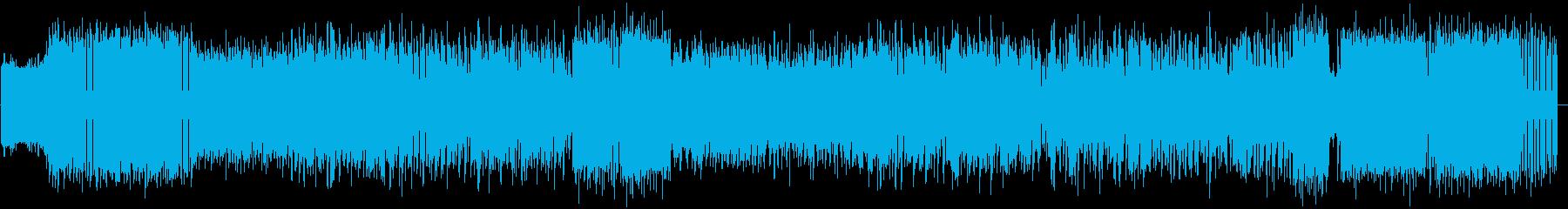 ゲームに合う疾走感チップチューンの再生済みの波形