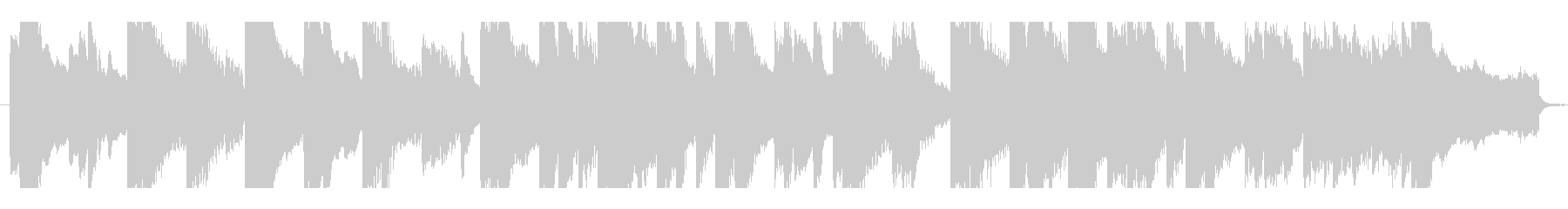 Emotional Pianoの未再生の波形