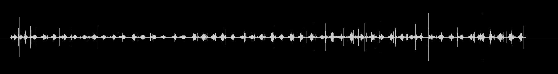 足音-高齢者-スリッパ-屋内を歩くの未再生の波形