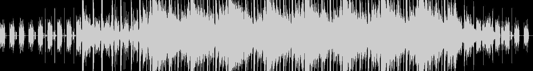 テンポ感の良い優しいエレクトロニカの未再生の波形