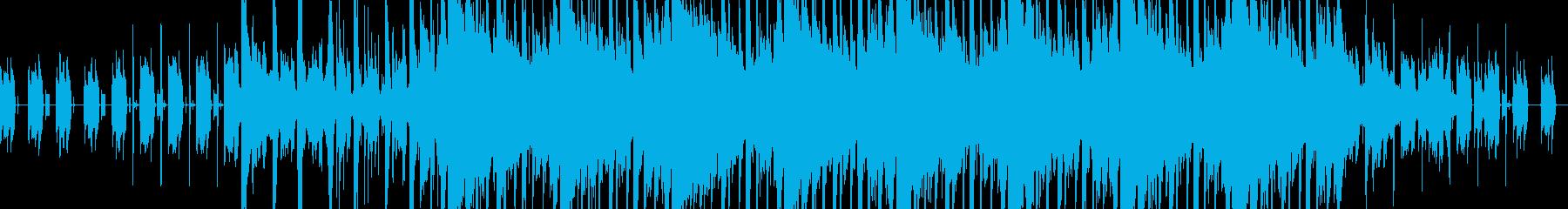 テンポ感の良い優しいエレクトロニカの再生済みの波形