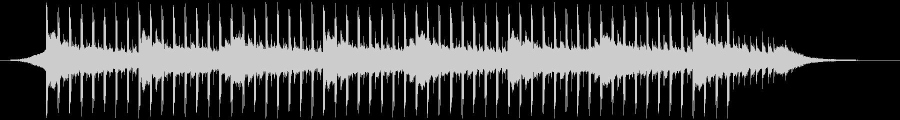 プレゼンテーション音楽(40秒)の未再生の波形