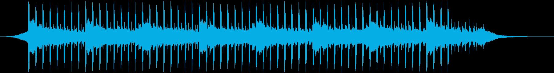 プレゼンテーション音楽(40秒)の再生済みの波形